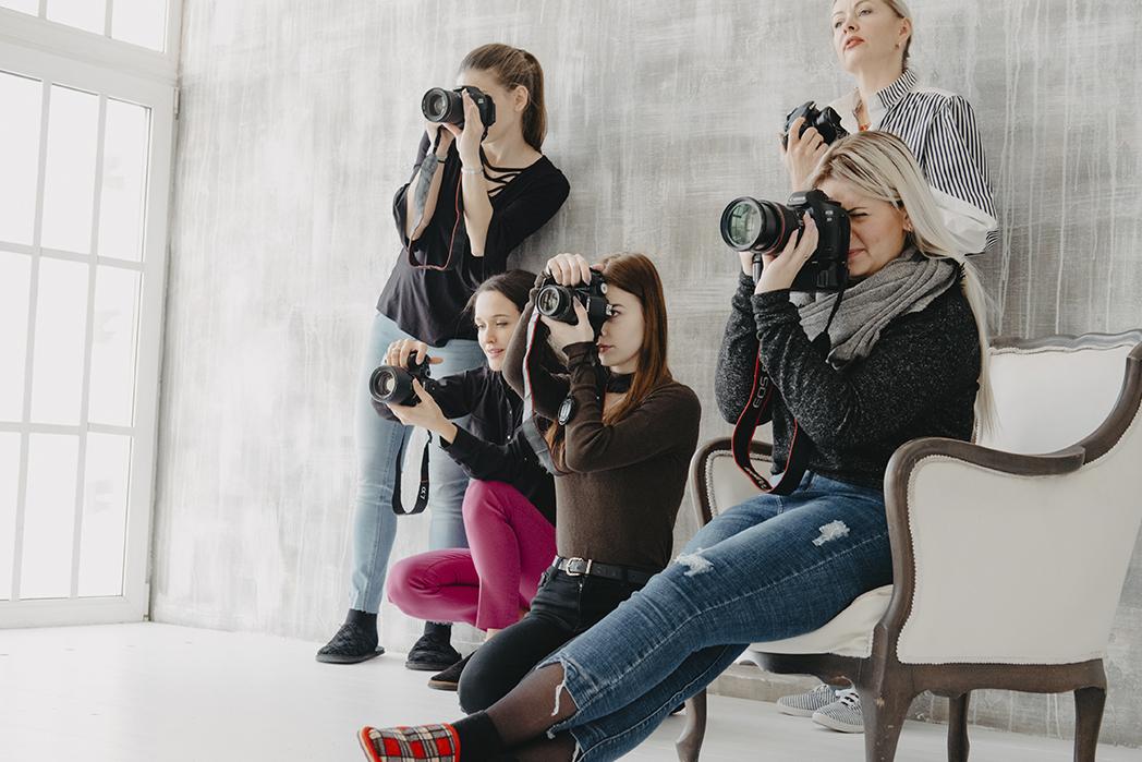 Как фотографировать производство удобно управлять